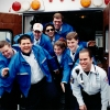 Student staff members of Syracuse University Ambulance in 1996. Photo by Bradley Wilson 717C14