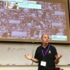 Brad Jenkins at the Virginia Journalism Camp at James Madison University, July 14, 2014. Photo by Bradley Wilson