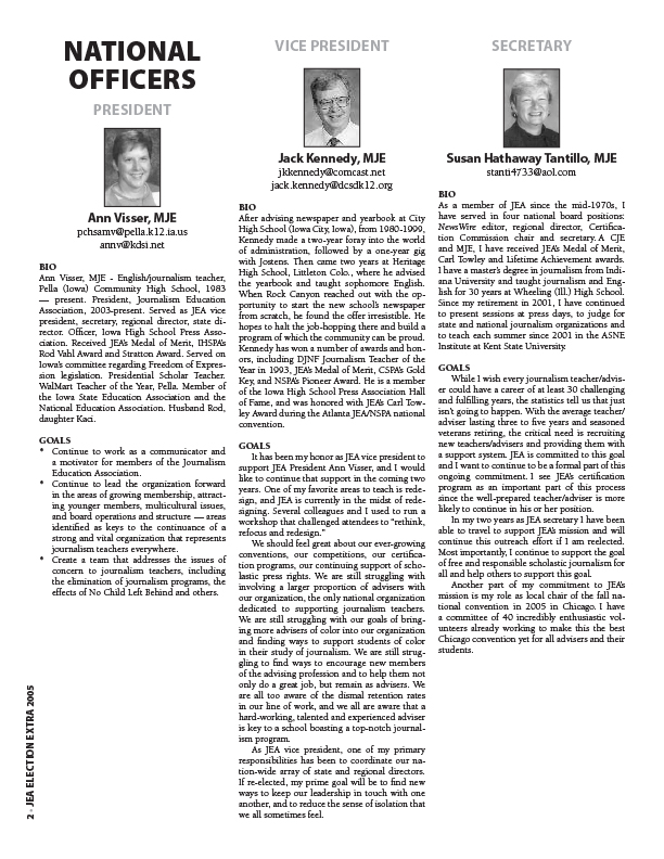 2005 election supplement