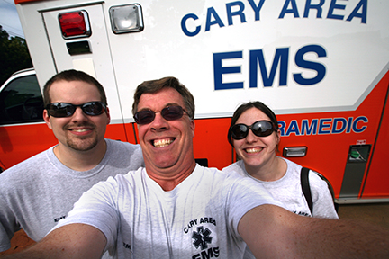 Bradley Wilson and Cary EMS