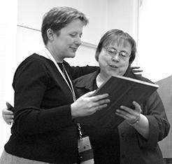 Ann Visser and Kathy Craghead