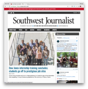 Southwest Journalist website