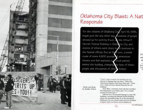'Oklahoma City Blast: A Nation Responds'