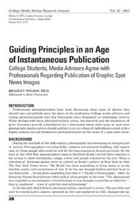 Guiding Principles paper
