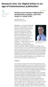 Digital Ethics paper