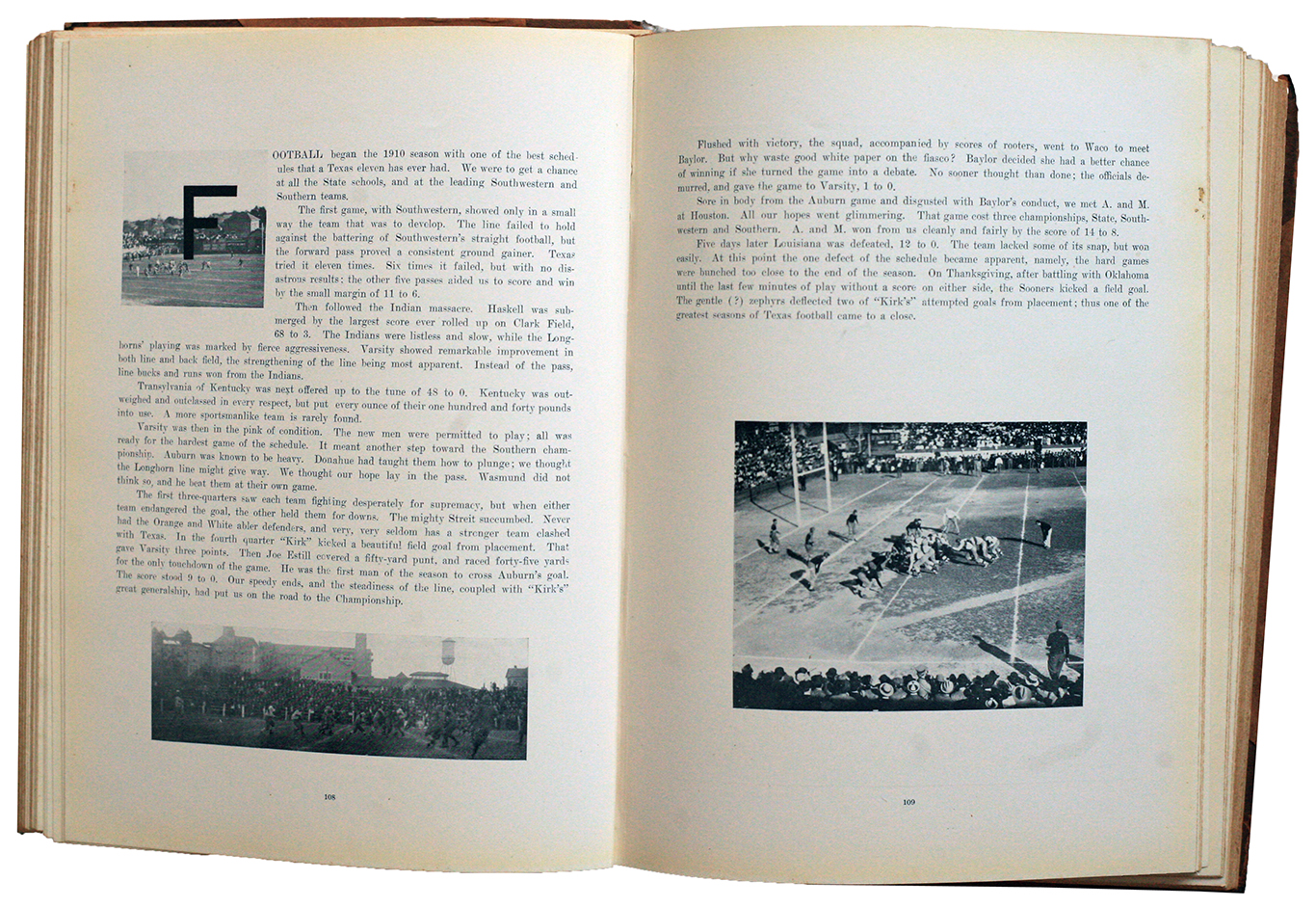 Football 1911 Cactus